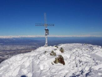 Bisalta Costone Centrale - Scialpinismo