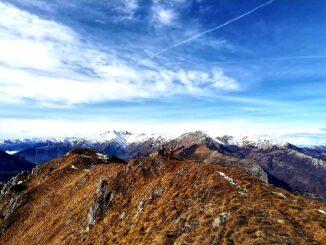 Vista verso le Alpi cuneese