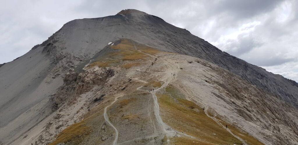 Monte Chaberton da Batteria Alta - VALLE SUSA