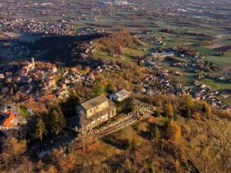 Riaperta la strada verso il santuario San Maurizio degli Alpini