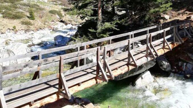 Nuova passerella per i Laghi di Fremamorta - Valle Gesso