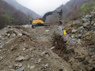 Cantieri in corso in alta valle Gesso