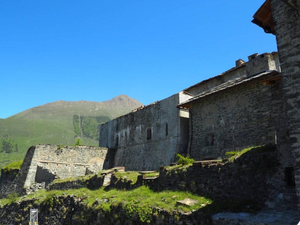La passeggiata Reale - Forte di Fenestrelle