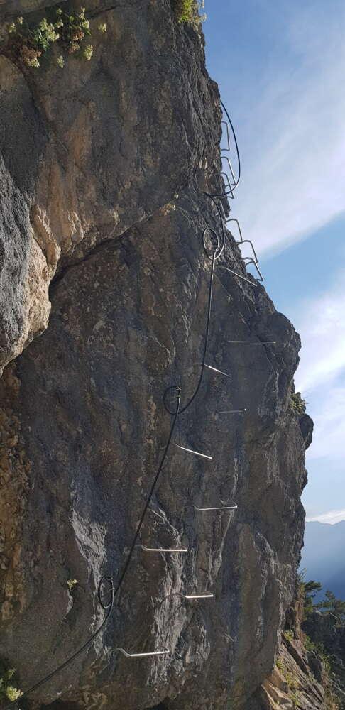Ferrata del Rouas -Bardonecchia - Valle Stretta